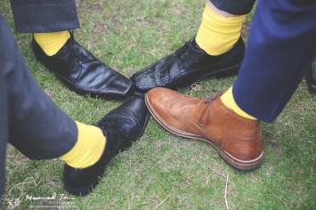 Yellow socks