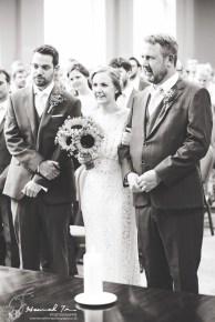 Groom, Bride & Father