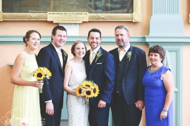 Bride & Groom & Family