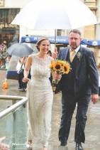 Bride & Father arrival