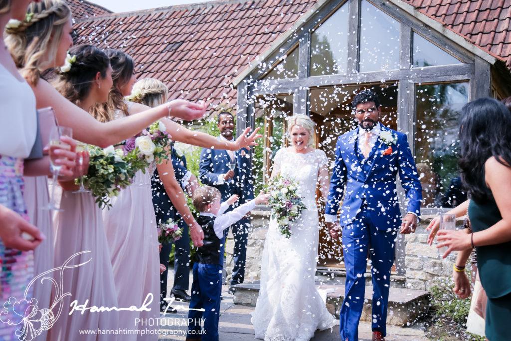 confetti weddings
