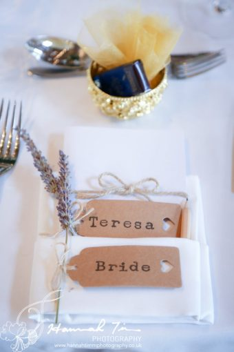 table details wedding photography