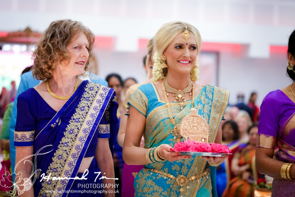 Hindu bridal entrance