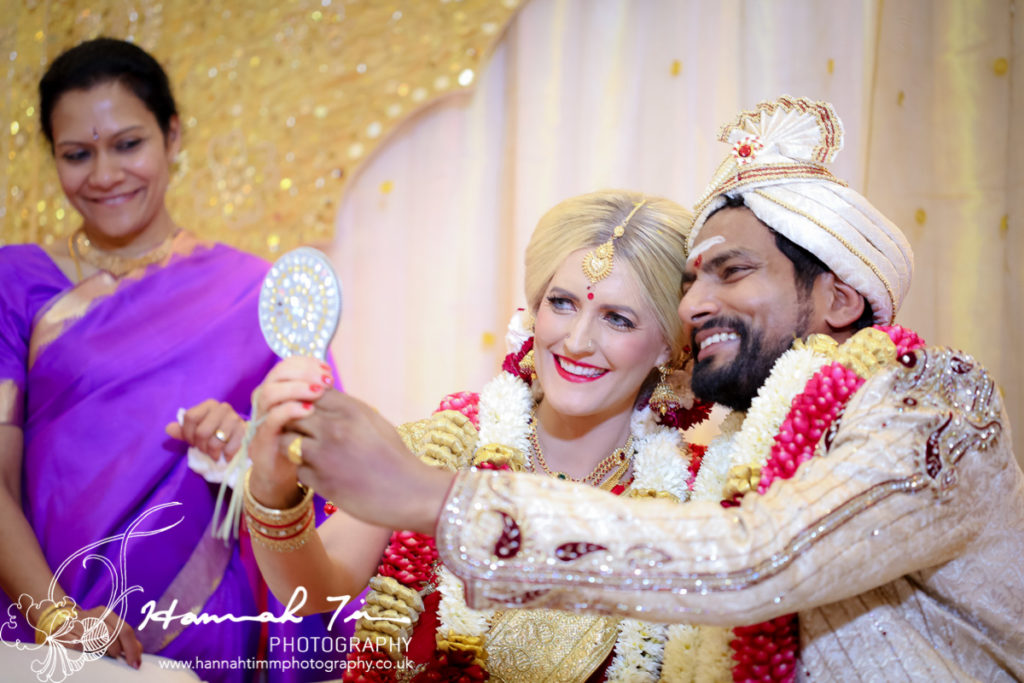 bride and groom Hindu wedding photography