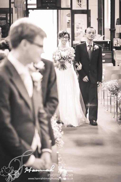 Christchurch Clifton wedding