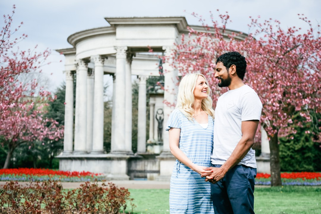 engagement portraits Cardiff - hannah timm photography