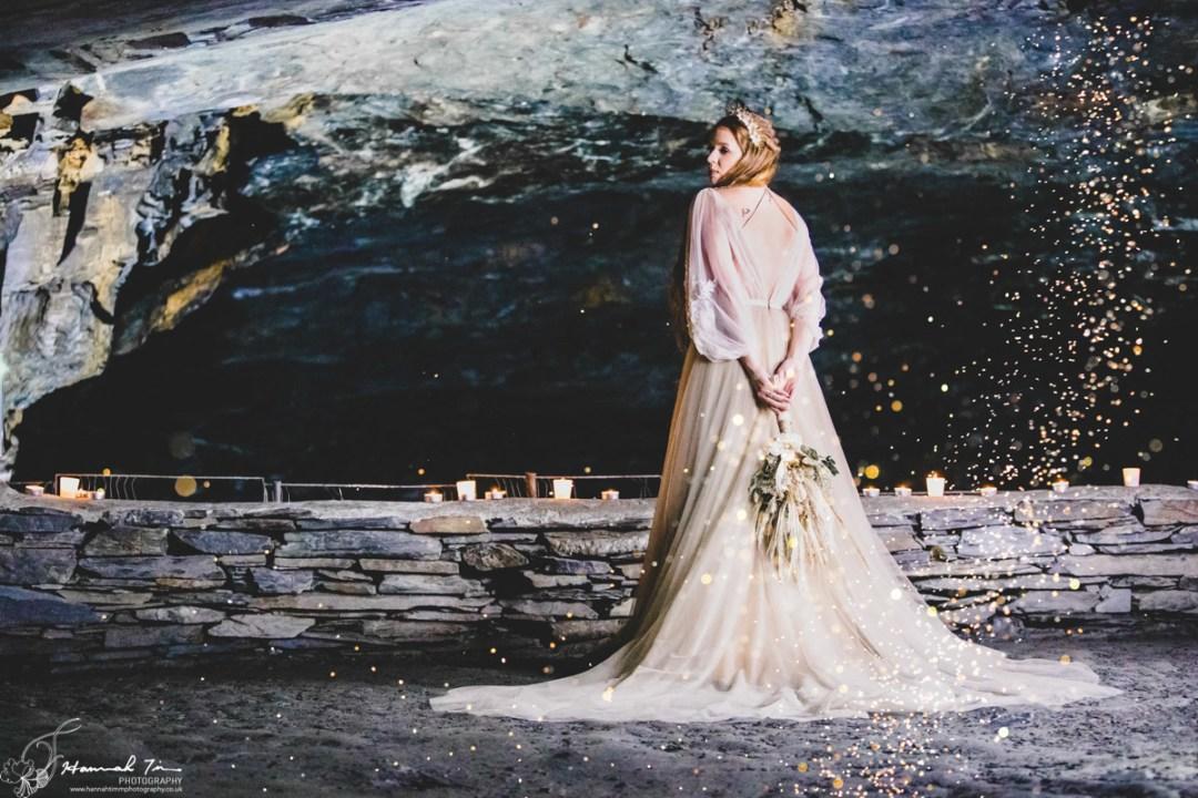 Carnglaze Caverns Wedding photographer