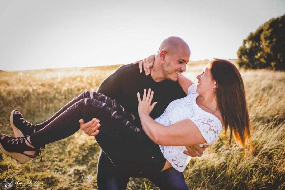 fun couples shoot