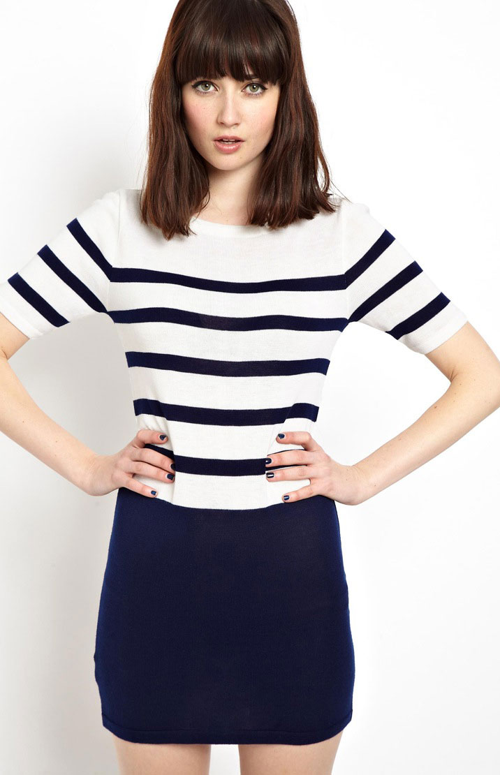 Breton dress, ASOS, was £30 now £21
