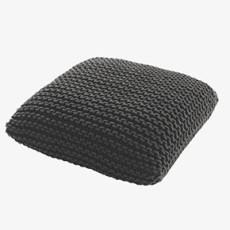 Habitat grey knot cushion