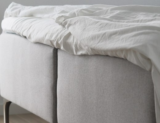 Scandinavian simplicity, a natural bed for my new Copenhagen home with Dunlopillo