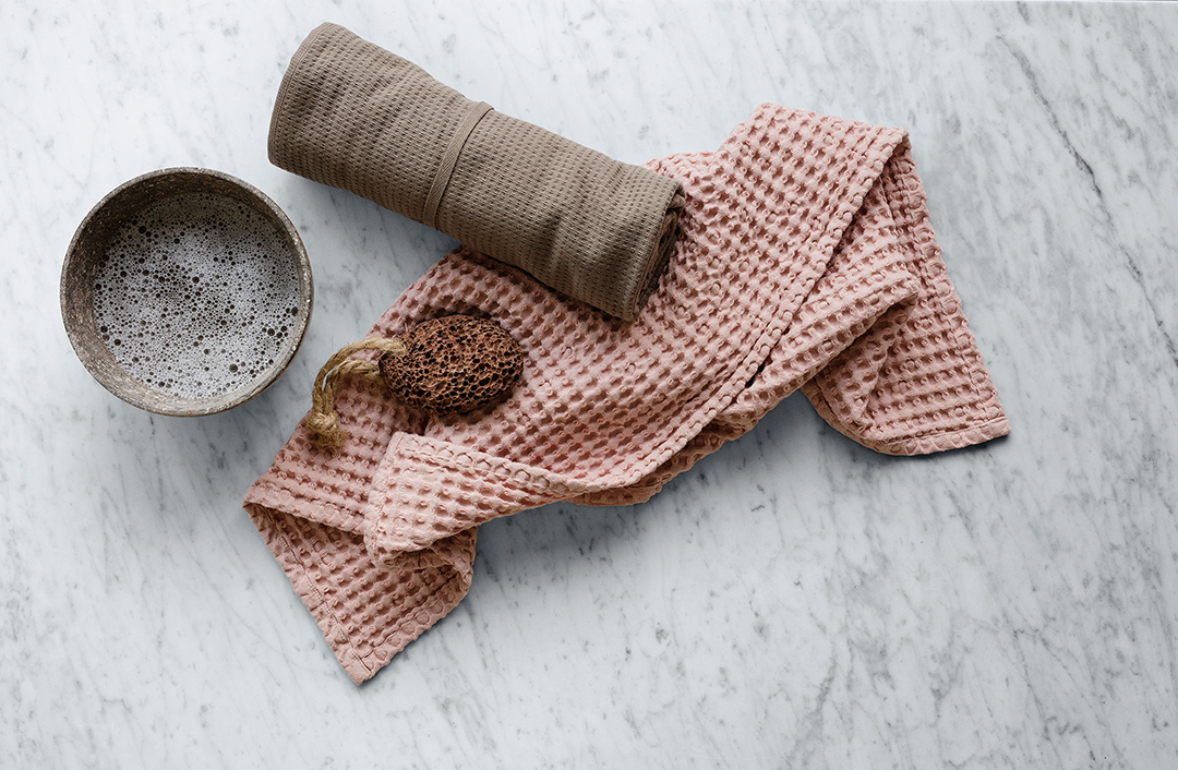 cleaning with stylish products