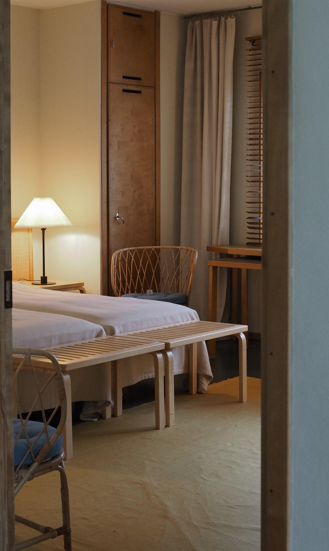 Alvar Aalto's bedroom