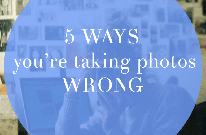 5 Ways You're Taking Photos Wrong | Hannah With a Camera