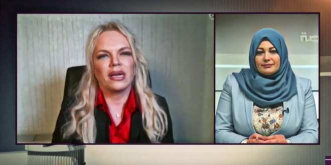 "ff001beb TV success Libya24 interview, 1 million reached, 12000 likes on ""The  Herland Report"