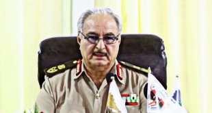 Khalifa Haftar Libya NATO civil war atrocities.