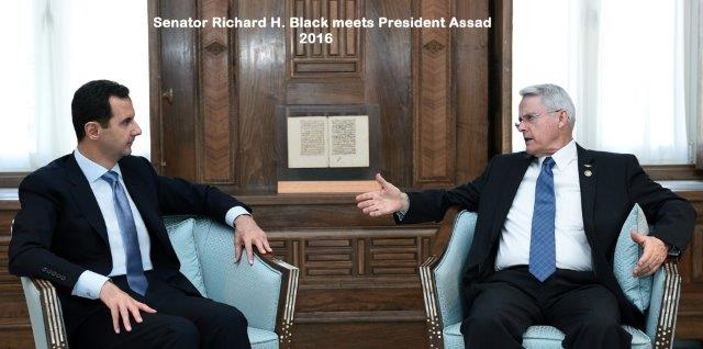 US Senator Richard Black endorses Saif al-Islam Gaddafi as candidate for the Presidency in Libya, Herland Report