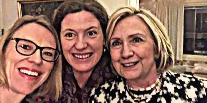 Notorious liar and war hawk, Hillary Clinton's best friend is oil rich Norway and #Norwegian Labor Party #Corruption – Hanne Nabintu Herland, WND