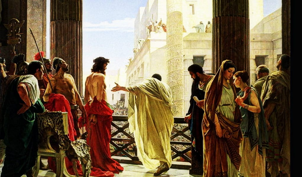 Easter Pilate Jesus Painting Herland Report