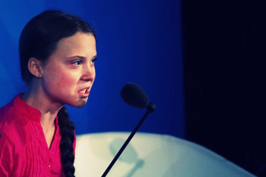 Greta Thunberg Getty Newsweek Herland Report
