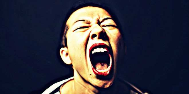 angry woman scream huffington post