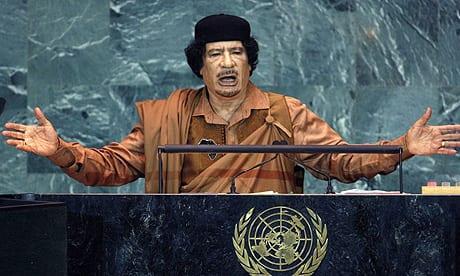 Muammar Gaddafi in the UN AP Herland Report