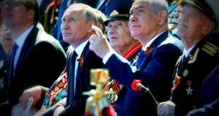 Putin Netanyahu moscow military parade 2018 israel Russia good relations Cyptrus Mail