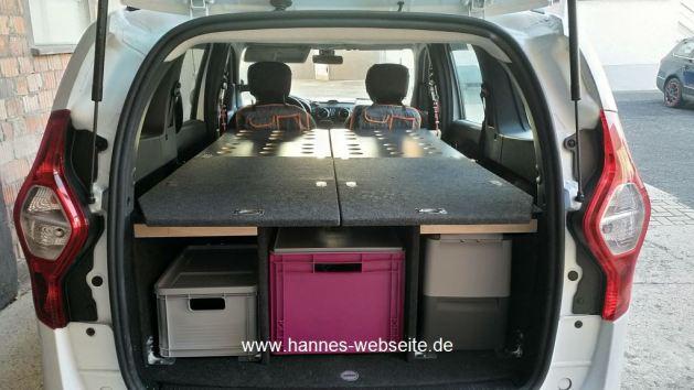 Minicamper mit Ladebden & Wangen, hannes-webseite.de