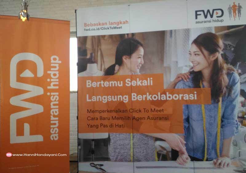 acara blogger gathering fwd click to meet