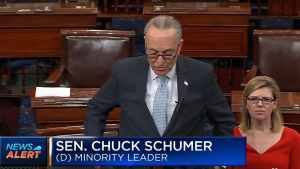 HELL FREEZES OVER: Schumer Stuns Senators, Says Trump 'MADE THE RIGHT DECISION'