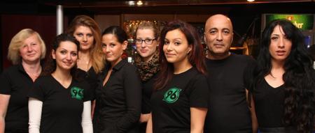 Das Ferry Team: Brigitte, Gülhan, Hellene, Josefine, Lisa, Hande, Ayhan und Zeliha