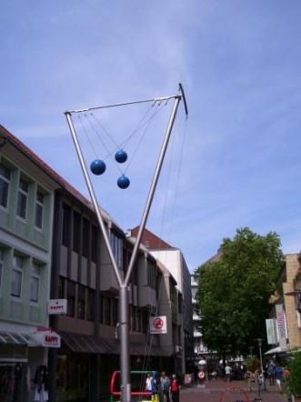Windspiel in der Grupenstraße