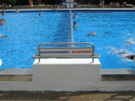 Schwimmer - Nichtschwimmer