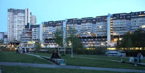 Ihme-Zentrum in der Dämmerung (Foto: Gerd Runge)