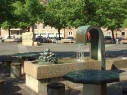 Brunnen auf dem Neustädter Markt