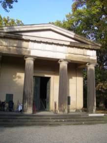 Seltene Gelegenheit - Einen Blick in das Mausoleum werfen