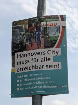 Hannovers City muss für alle erreichbar sein
