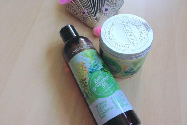 ORGANIQUE Pinacolada Sugar Whip Peeling & Massage Oil
