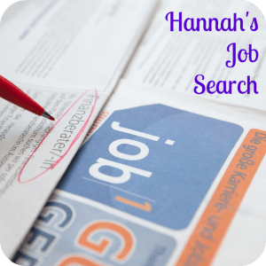 Hannah's Job Search