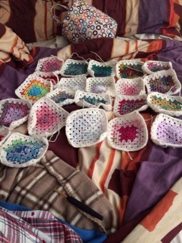 Blueberry's Baby Blanket