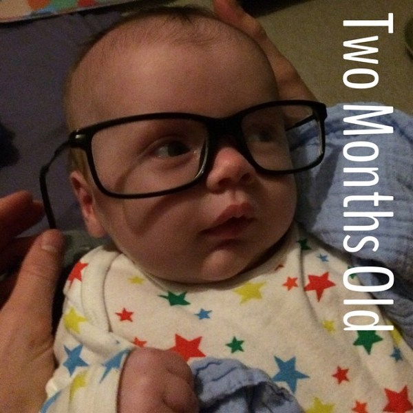 Jaxon is now Two Months Old