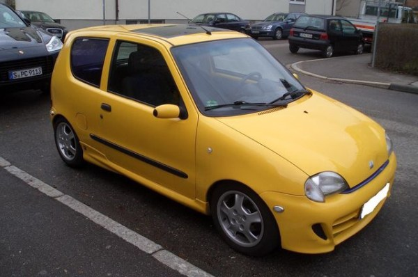 Fiat Seicento - my second car (not this exact one but close enough!)