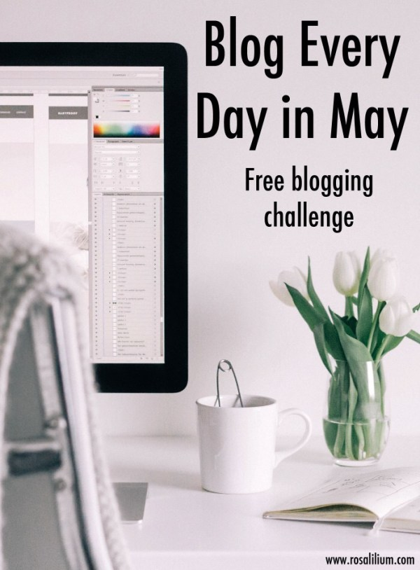 BEDM 2015: Blog Every Day in May