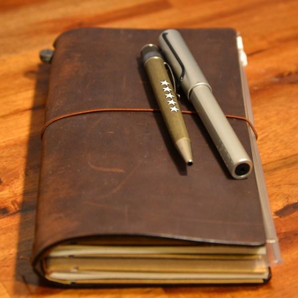 Hollis Finds - Midori Traveler's Notebook