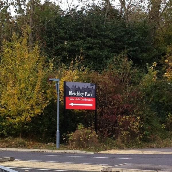 Bletchley Park Gate