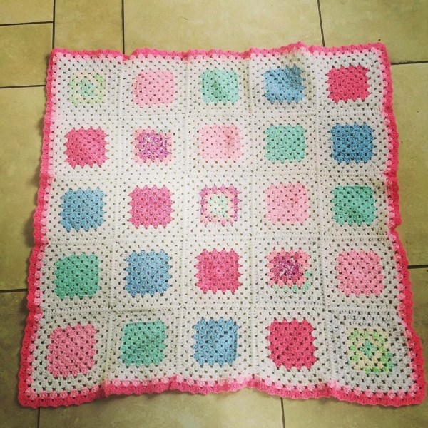 Baby Blanket for Lucy's Little Girl
