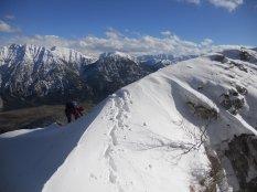 Ausstieg Klettersteig
