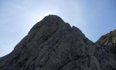 Genussklettern am Aggenstein an der Nordwand