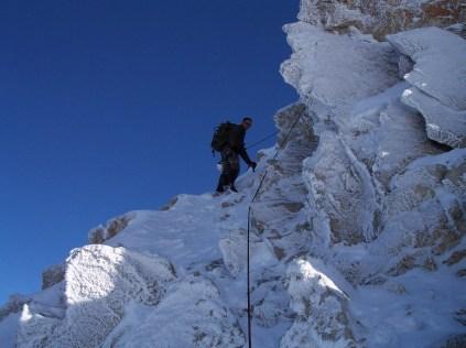 Aufstieg zum Westgrat Treskavec