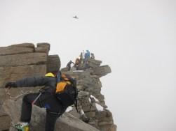 Flieger am Gipfel